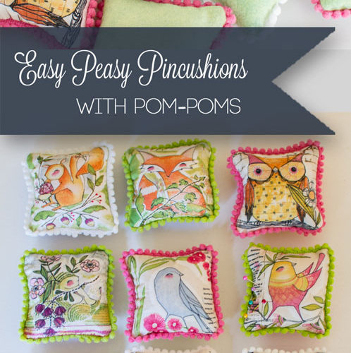 How to sew easy peasy pincushions