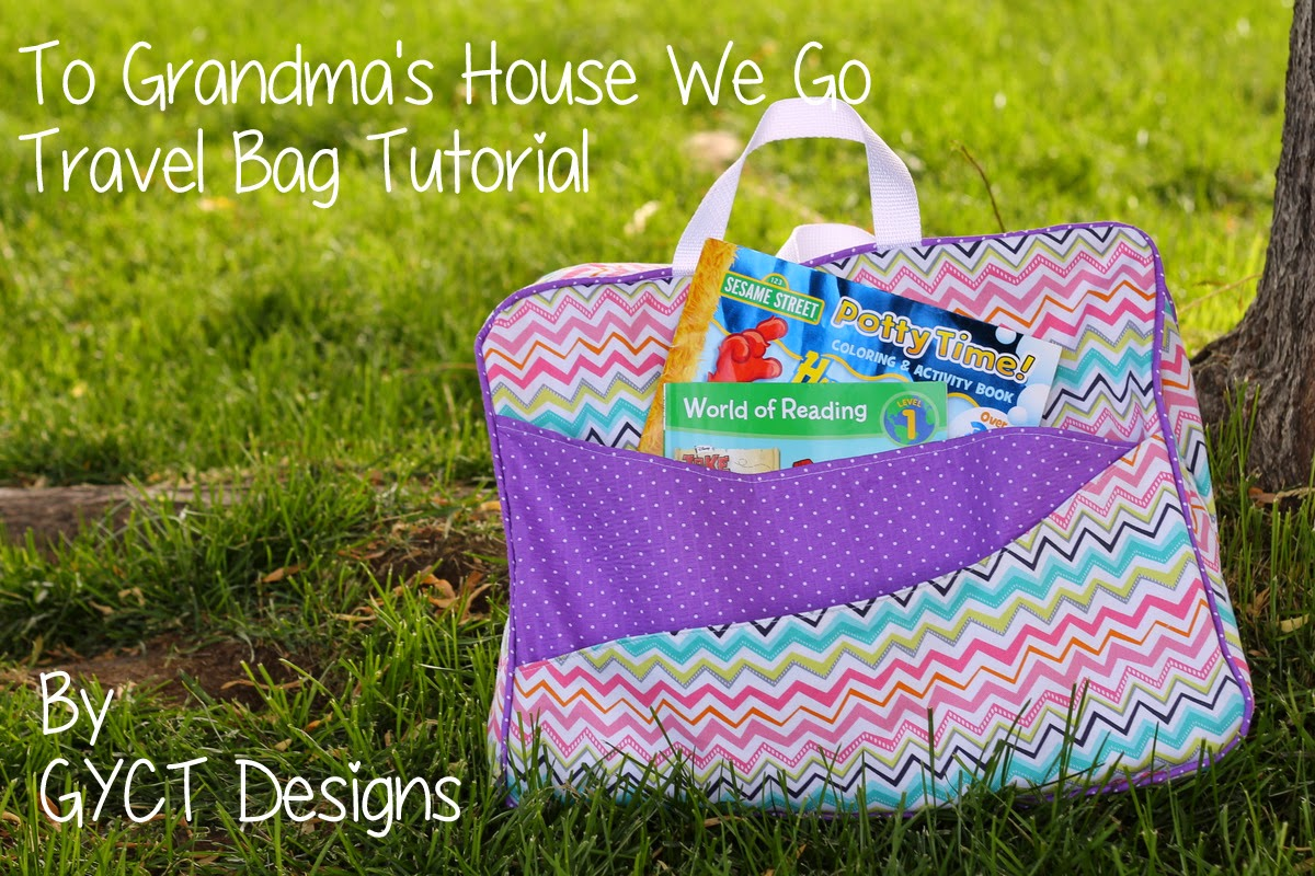 TO Grandma's House We GO Travel Bag from GYCT Designs