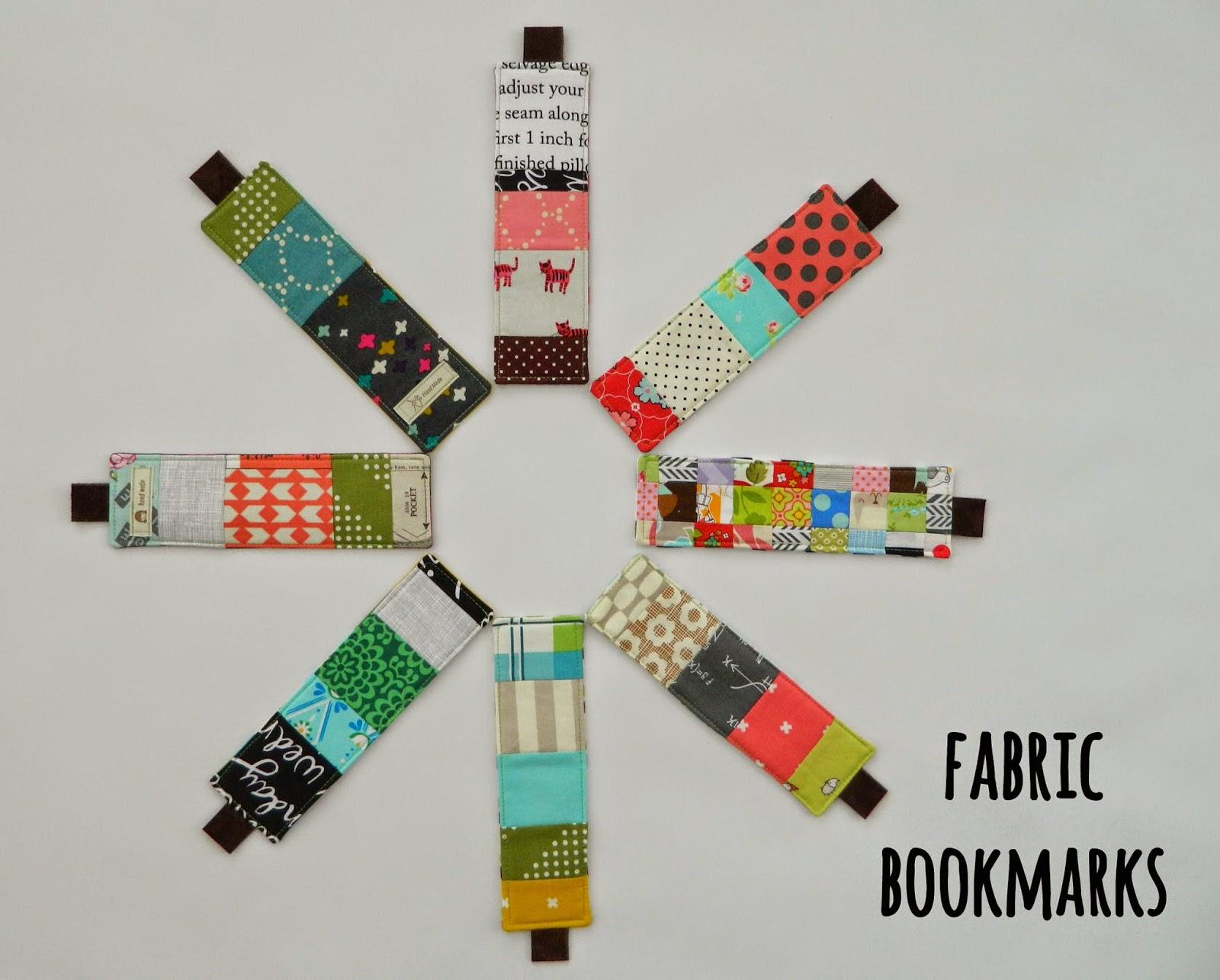Handmade fabric bookmarks from S.O.T.A.K Handmade