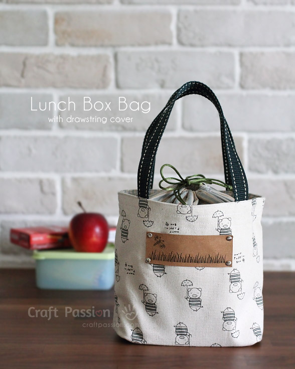Lunch Box Bag from Craft Passion