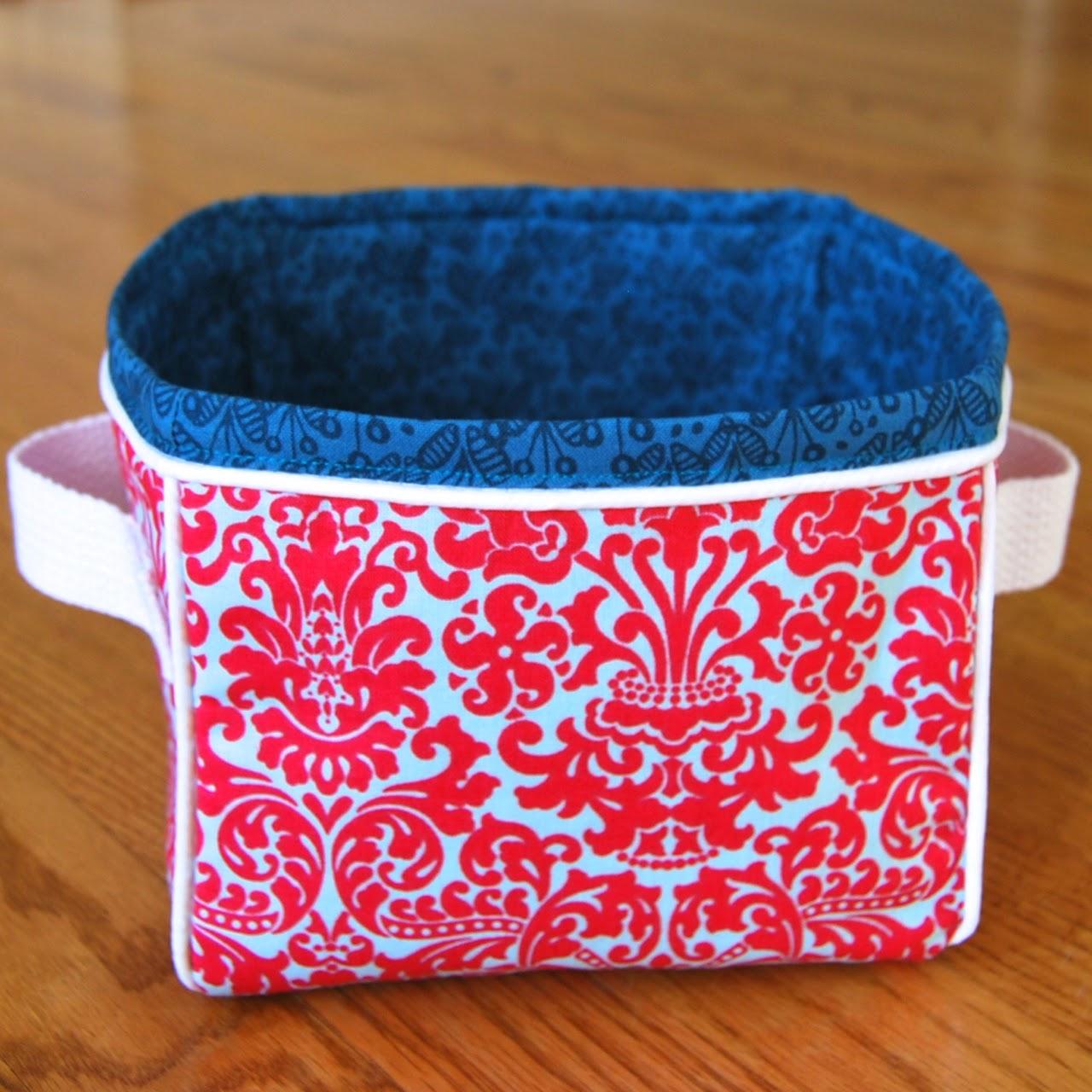 Boxy Fabric Basket