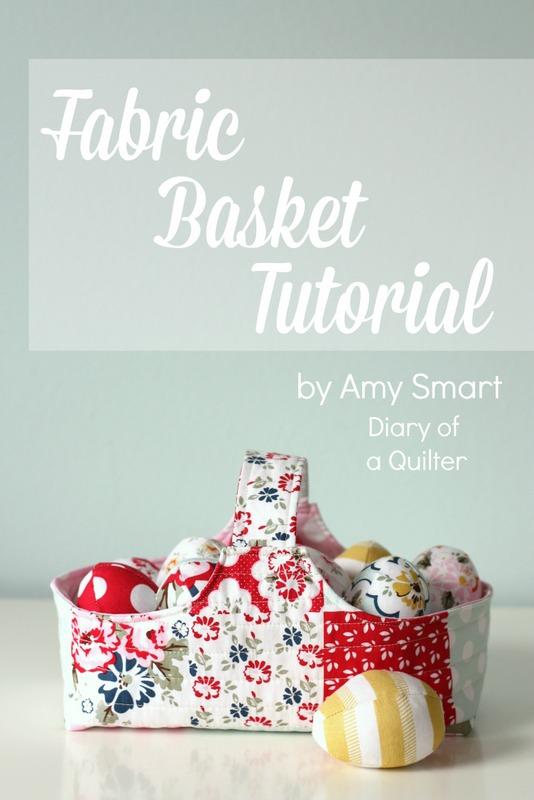 Fabric Basket Tutorial from Riley Blake Designs