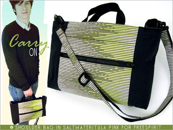 Unisex Urban Shoulder Bag from Sew 4 Home