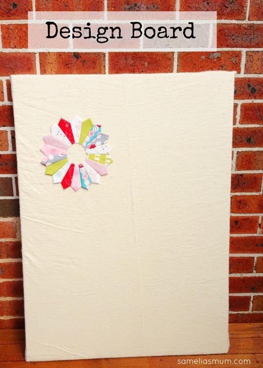 Portable Design Board from Samelia's Mum