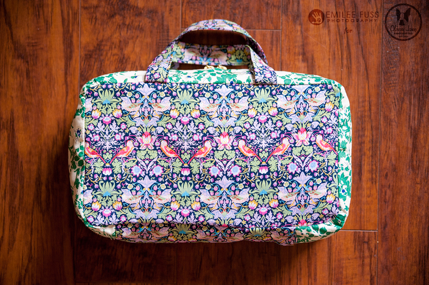 Liberty Travel Cosmetics Case Tutorial from Olivia Jane Hand Crafter