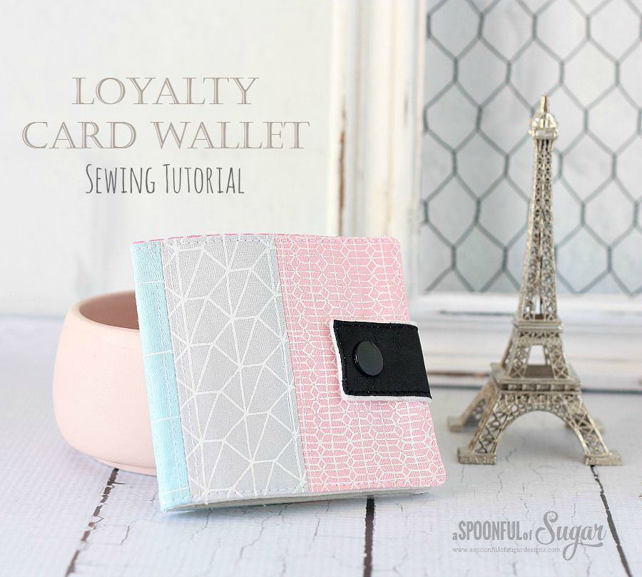 LOYALTY CARD WALLET from A Spoonful of Sugar
