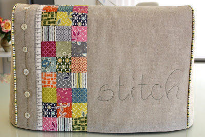 Sewing machine cover from Bloom