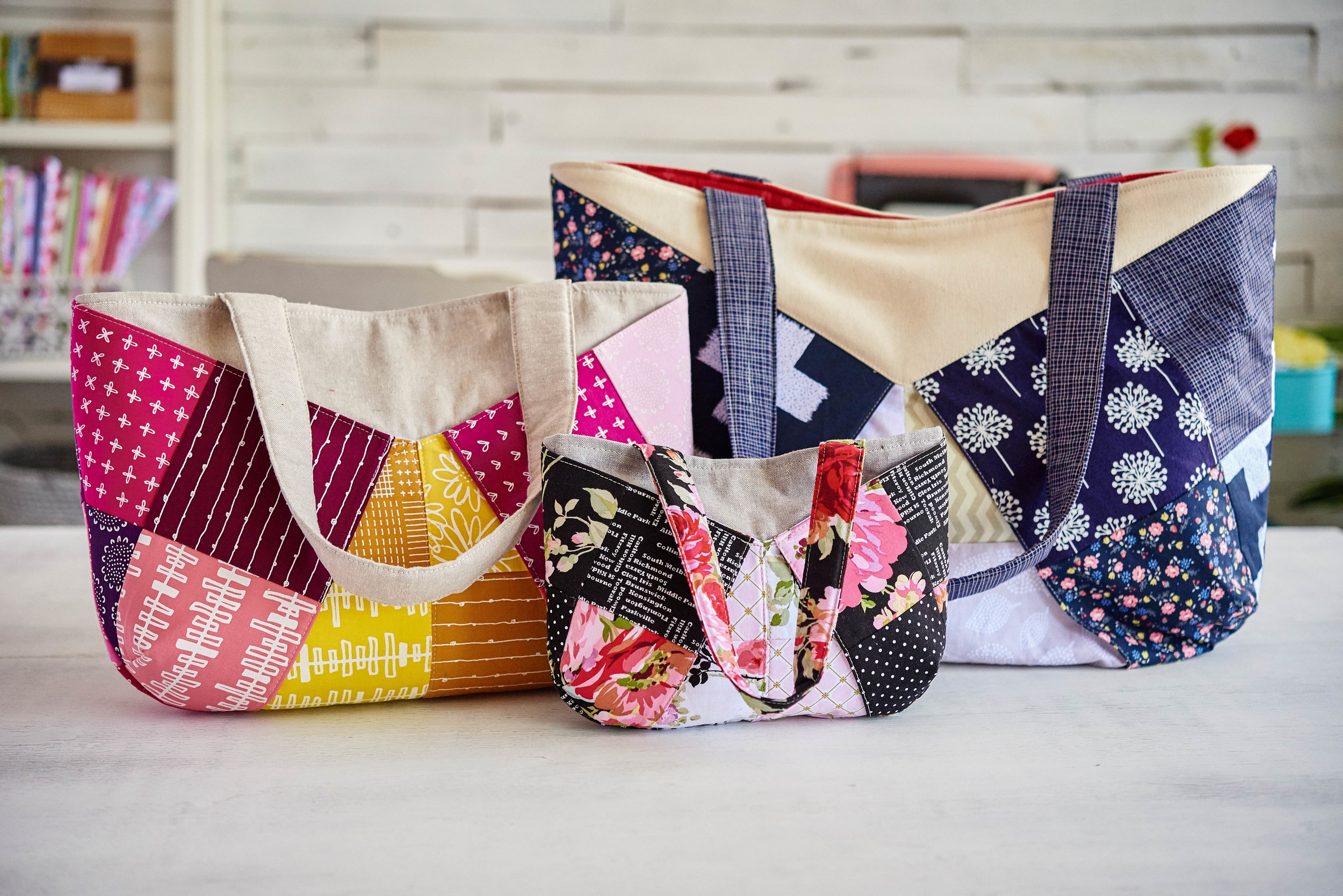 then these totes...