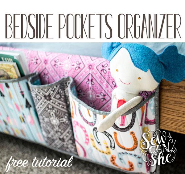 Bedside Pockets Organizer!