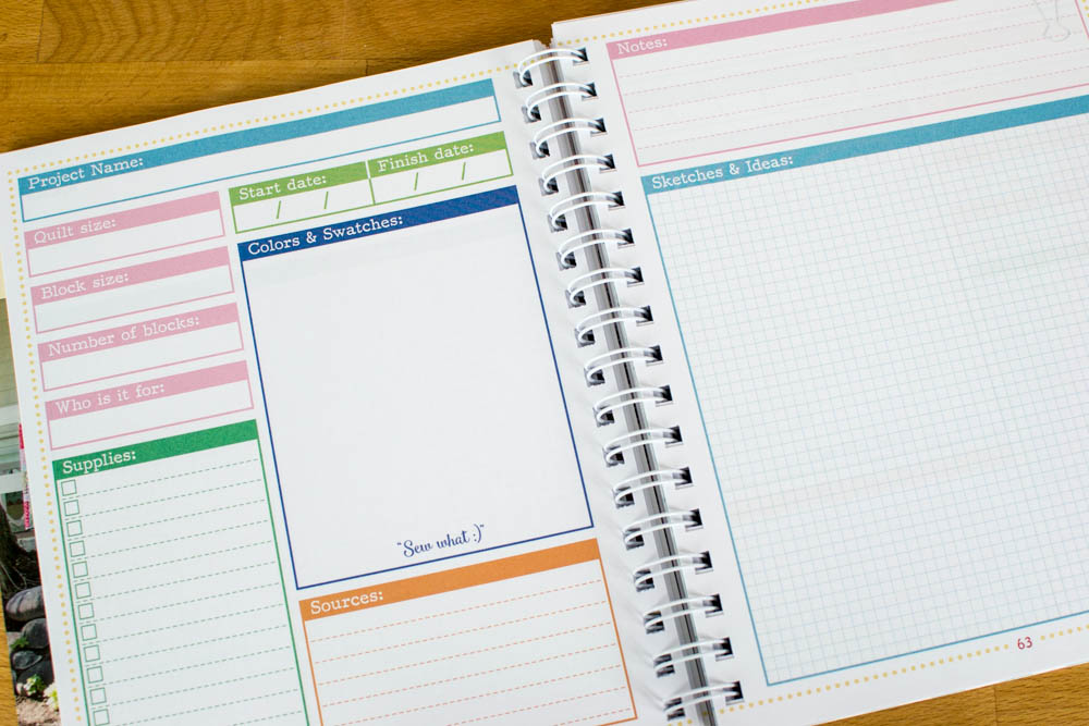 Graph paper in the project planning section - yay!