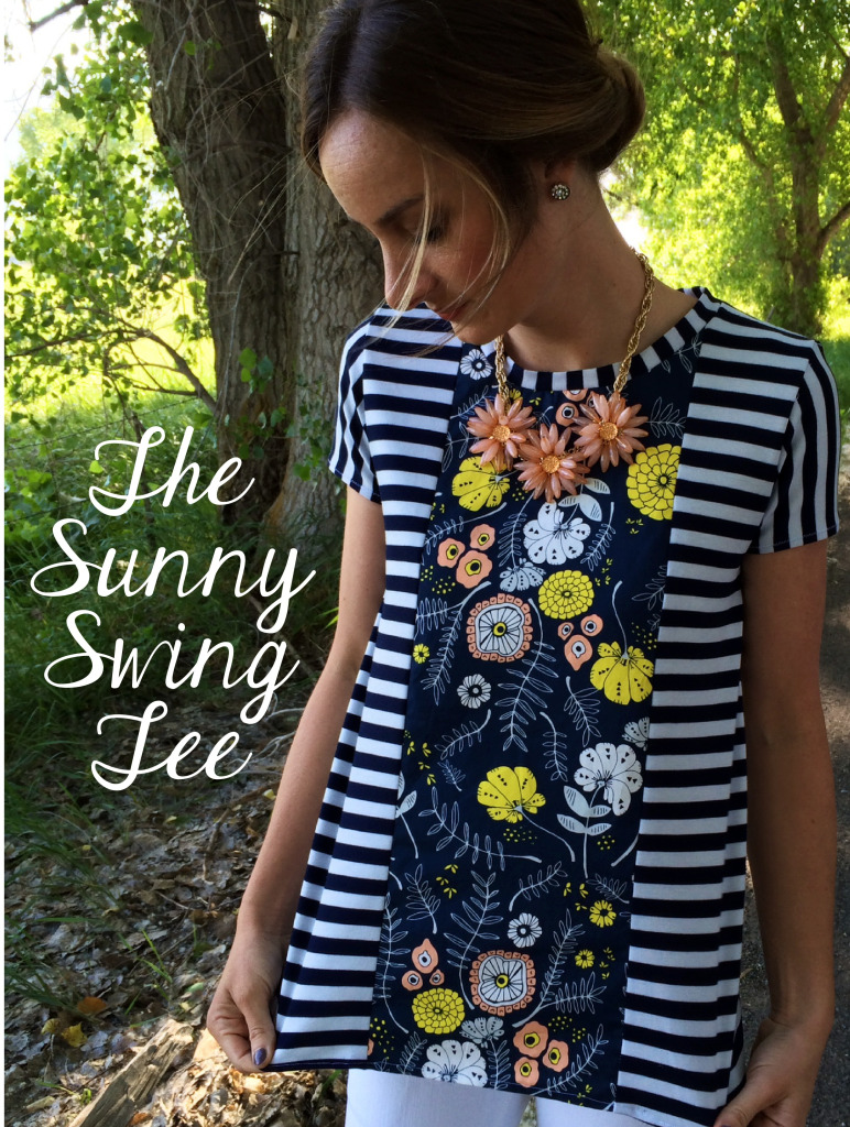 The Sunny Swing Tee Sewing Tutorial + Free Pattern From the Sara Project
