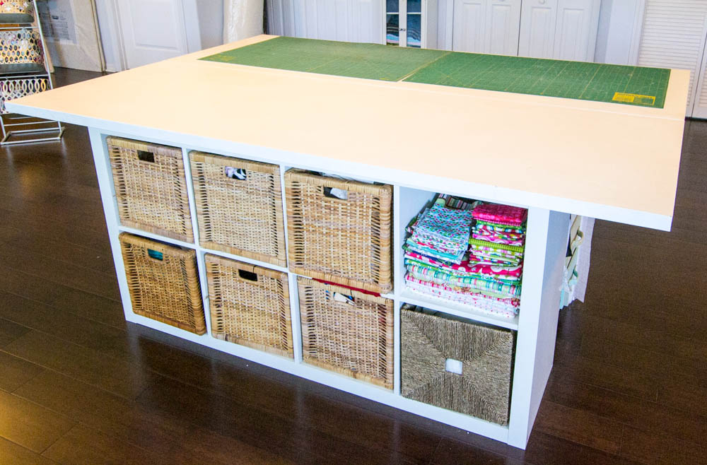Sewing Table Storage