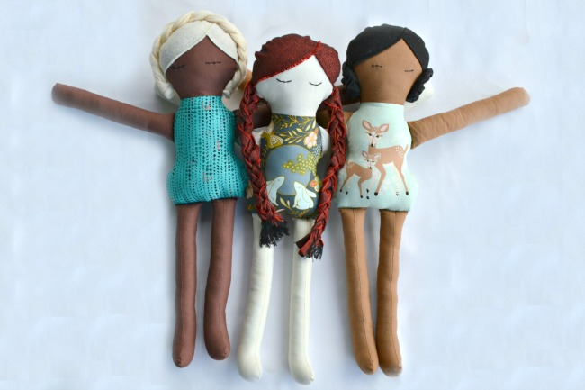 DOLL PATTERN from Crazy Little Projects