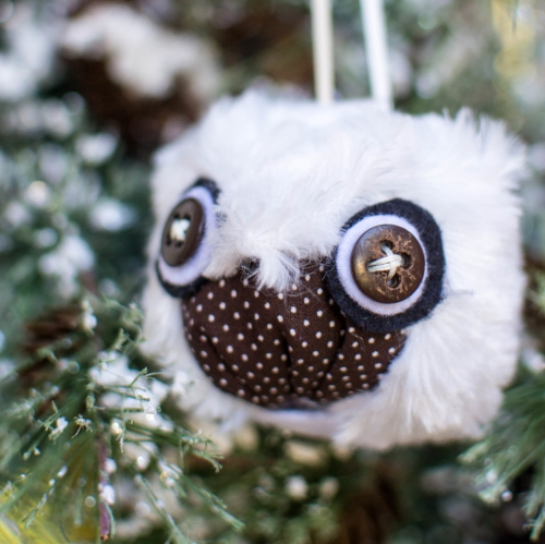 How to sew cute owl ornaments.
