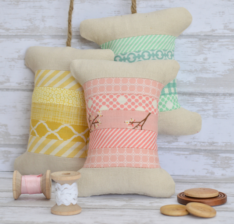 Spool Pincushion Tutorial from the Family Hearth