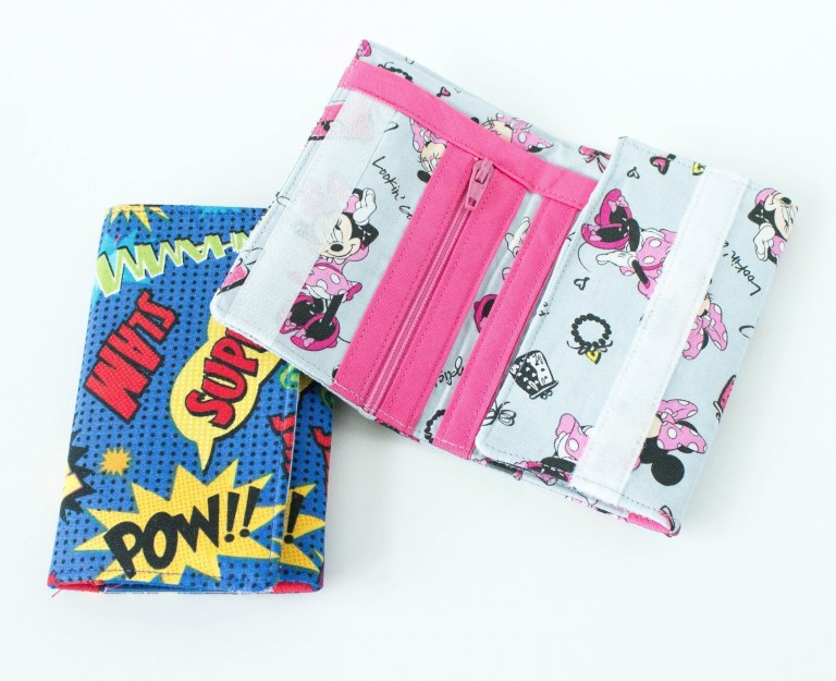 KIDS WALLET TUTORIAL from Crazy Little Projects