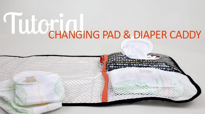 On-the-Go Diaper Caddy & Changing Pad from the Inspired Wren
