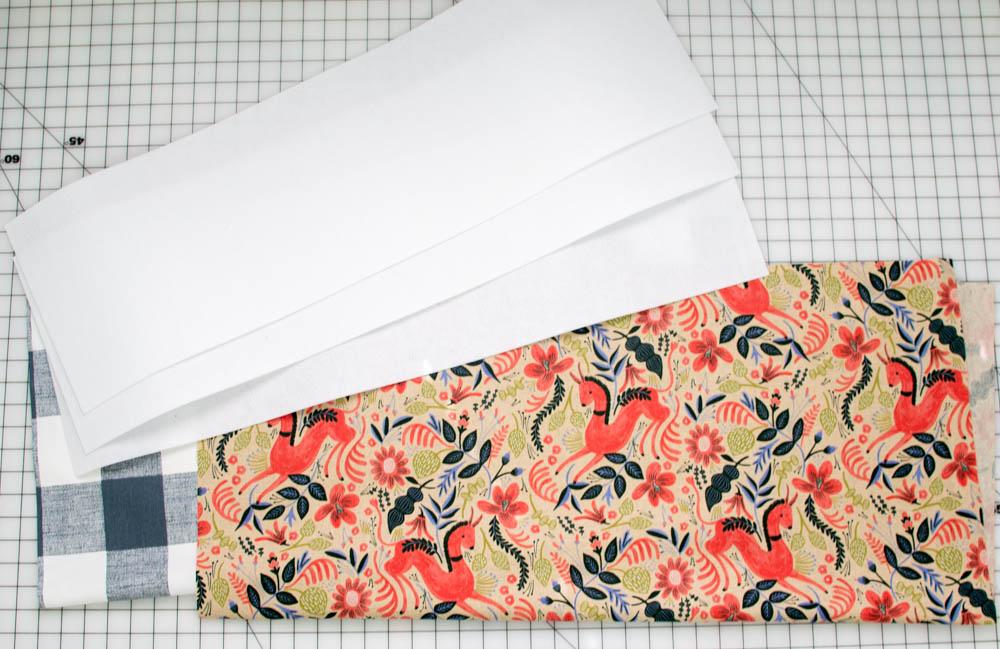 supplies for fabric storage basket