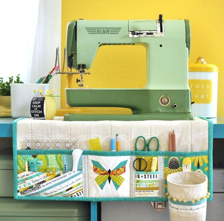sewing project for organizing your craft area