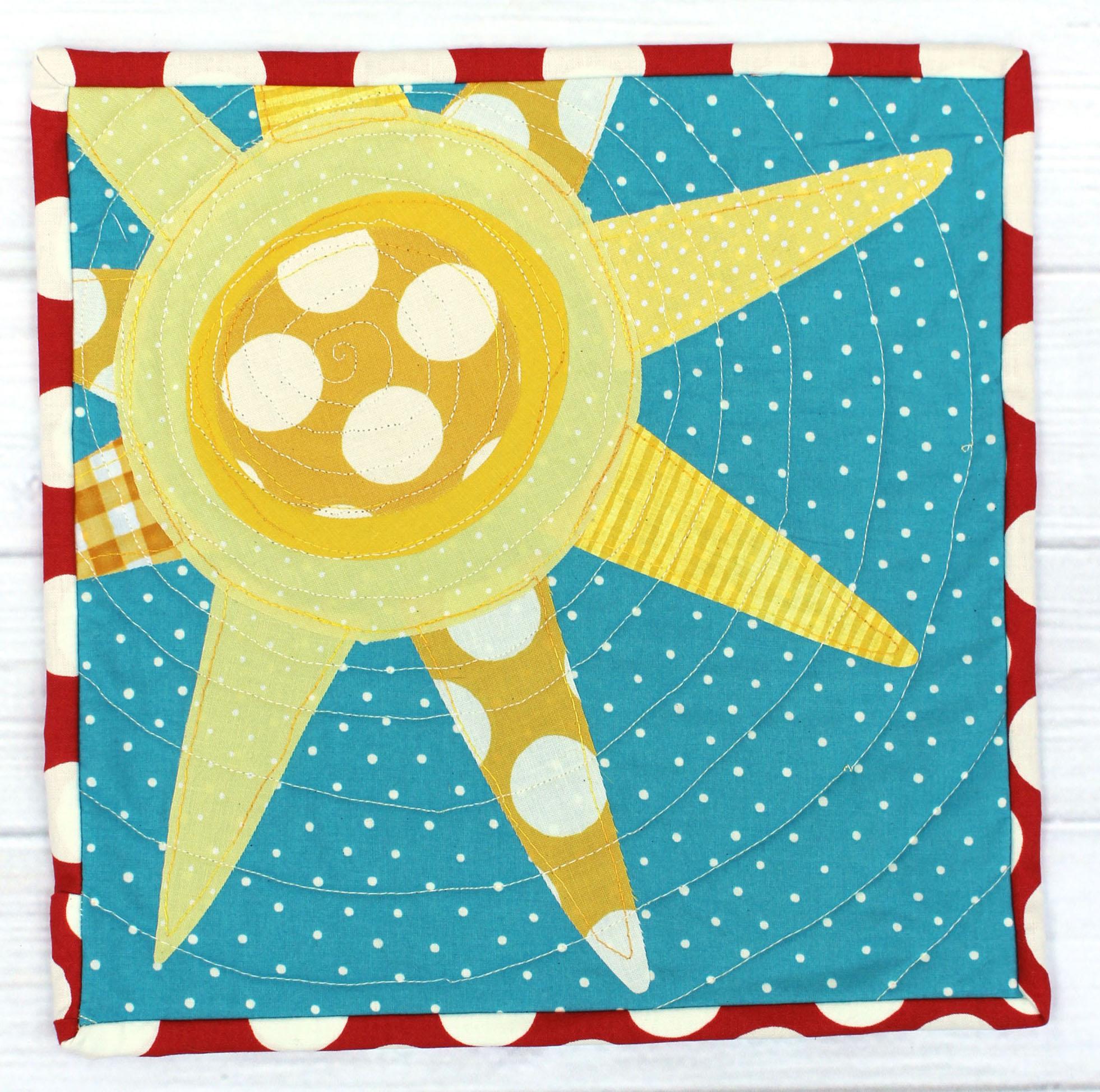 Jennifer's Sunshine Mini Quilt
