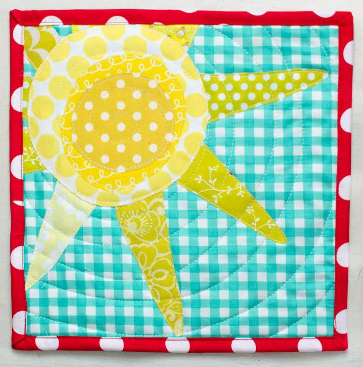My Sunshine Mini Quilt
