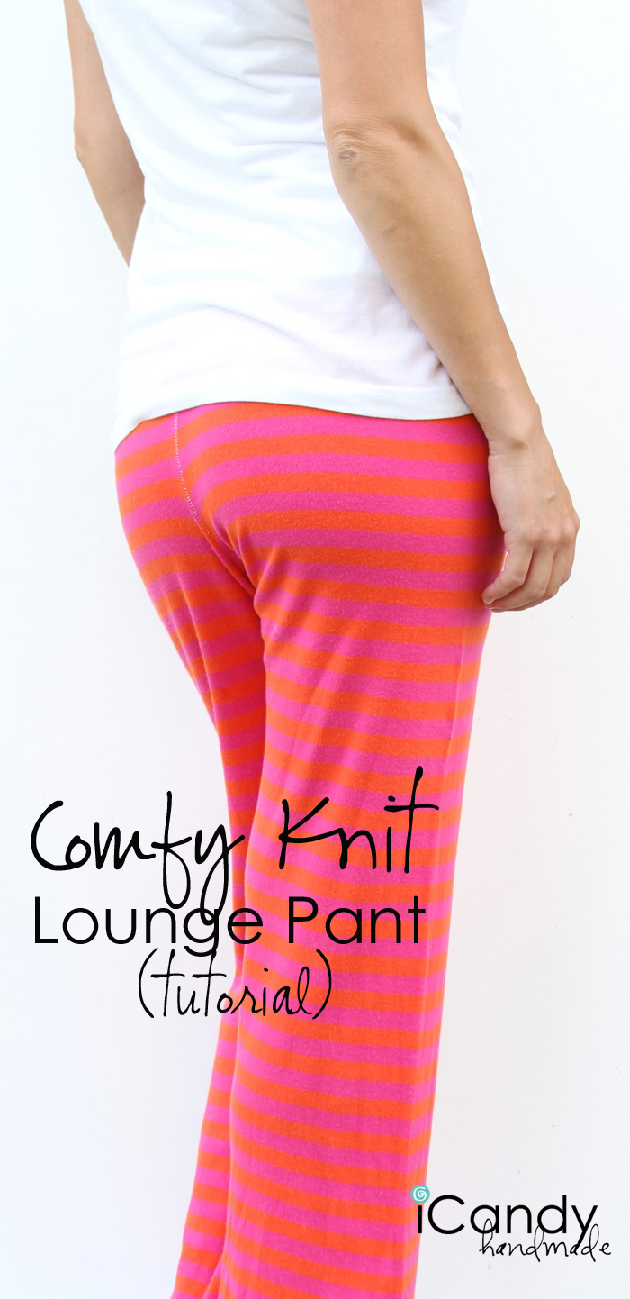 Comfy Knit Lounge Pants  from iCandy Handmade