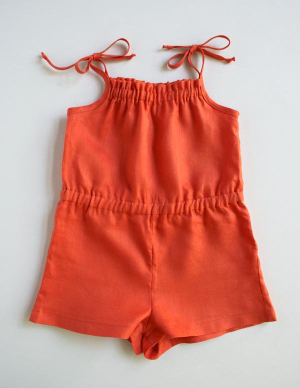 Summer Romper from Purl Soho