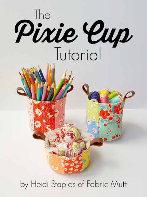 The Pixie Cup Tutorial from The Fabric Mutt