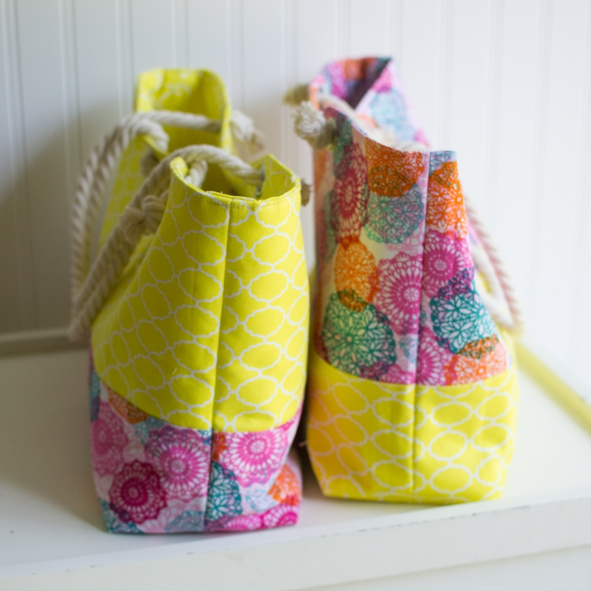 Easy Tote Bags To Sew