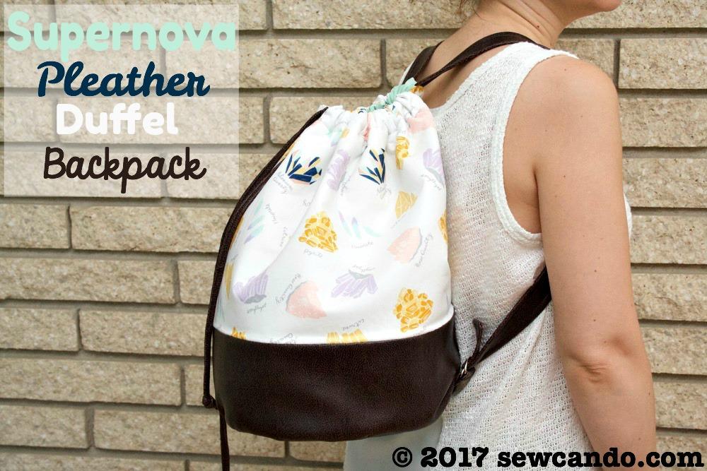 Sew Can Do Supernova Pleather Duffel Backpack_zpsxpowumvm.jpg