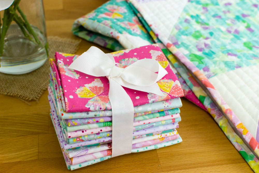 Fat Quarter Fancy - Free Quilt Pattern using 9 Fat Quarters