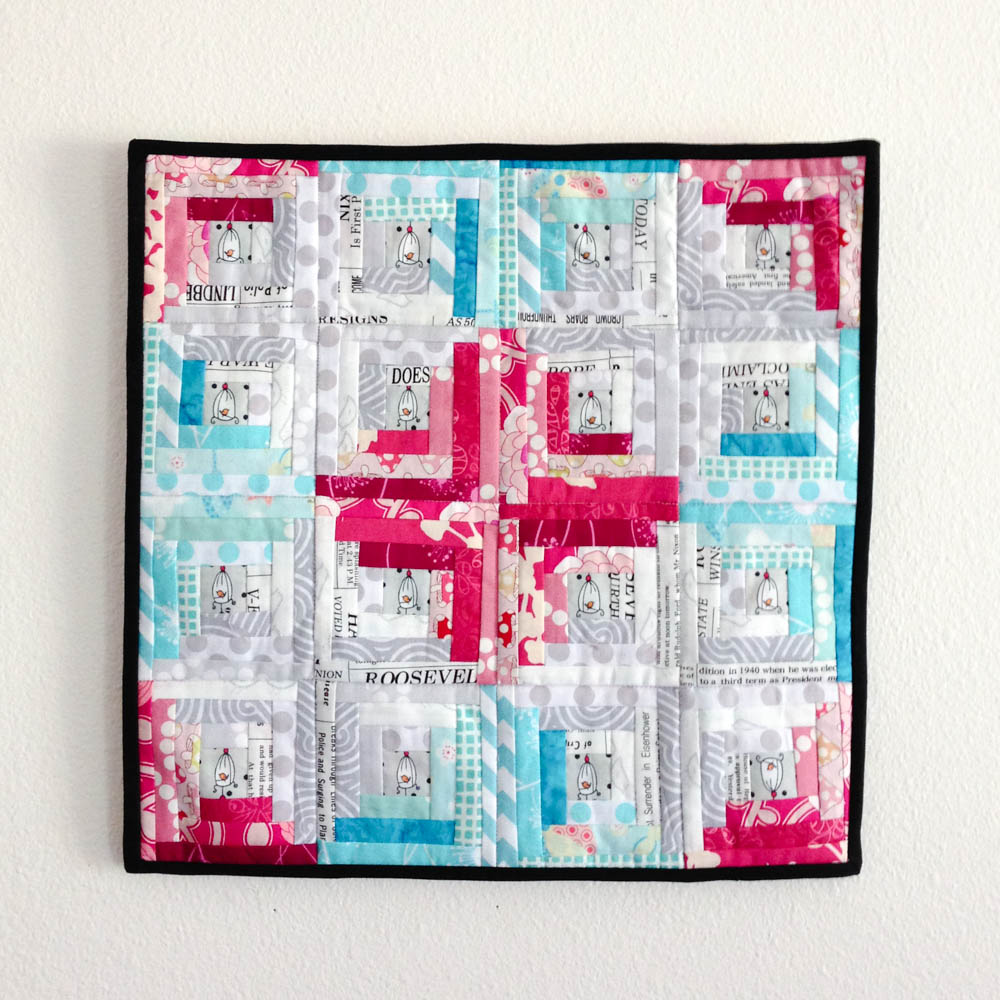 Bust Your Stash With This Log Cabin Quilt Pattern Sewcanshe Free Sewing Patterns And Tutorials