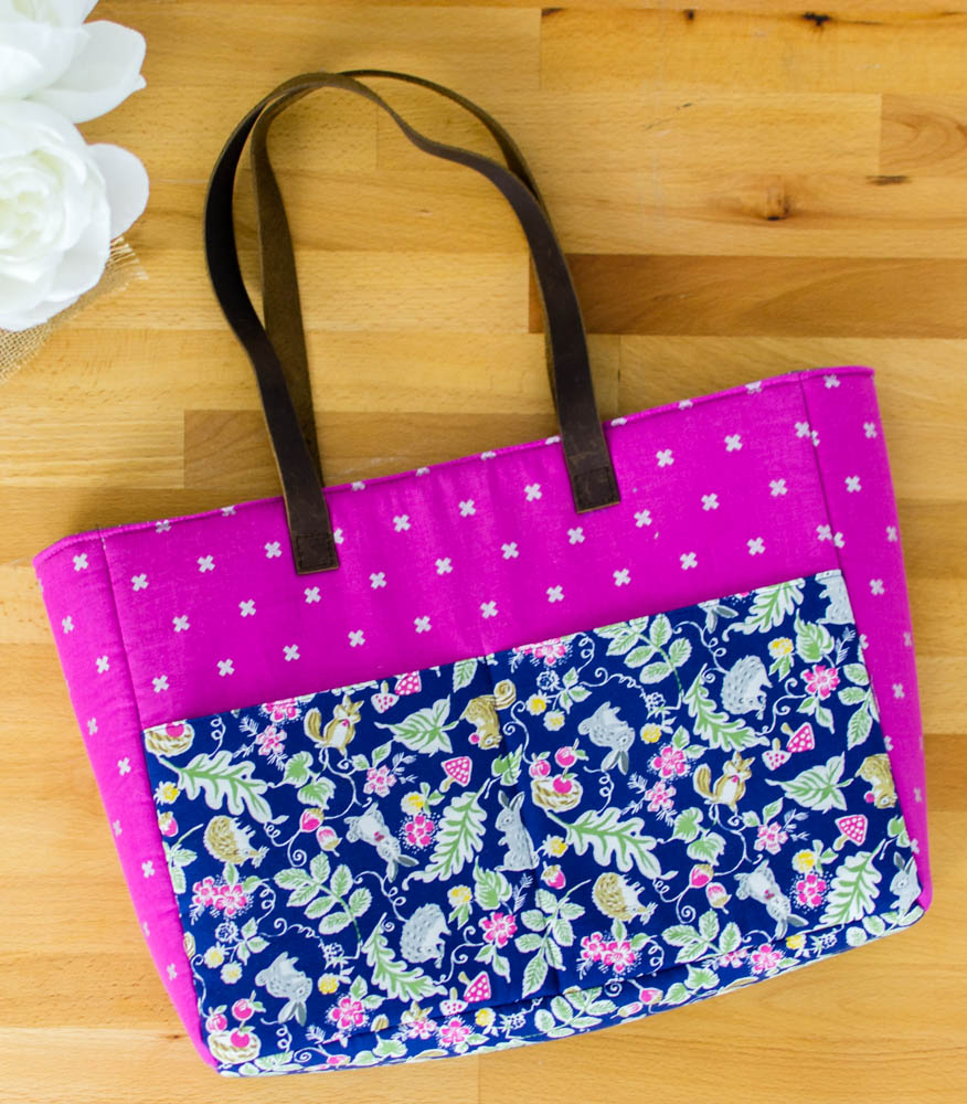Strappy Bag with Pockets - Easy DIY Sewing Tutorial