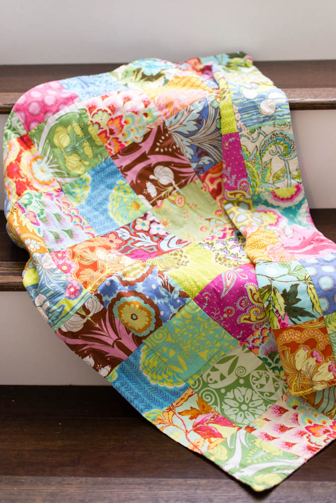 thrift store baby quilt.jpg