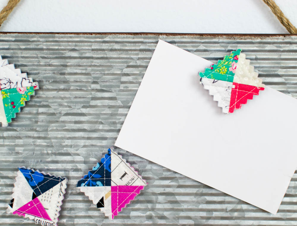 I even love making tiny quilts like these itty-bitty-magnet-quilts.