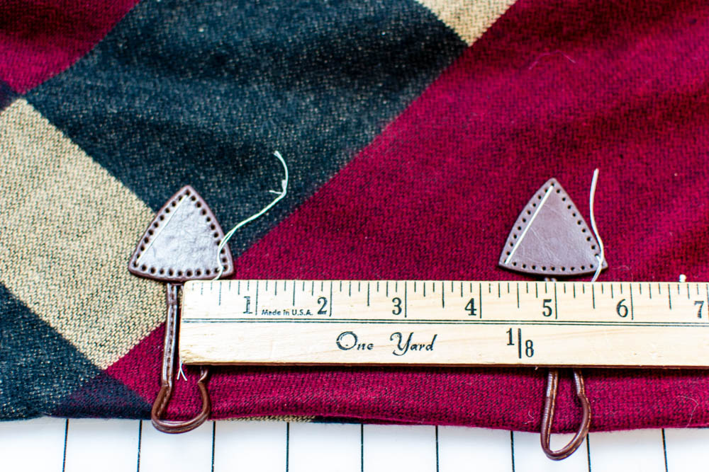 DIY Cozy Poncho Wrap {that you can sew from fabric or a