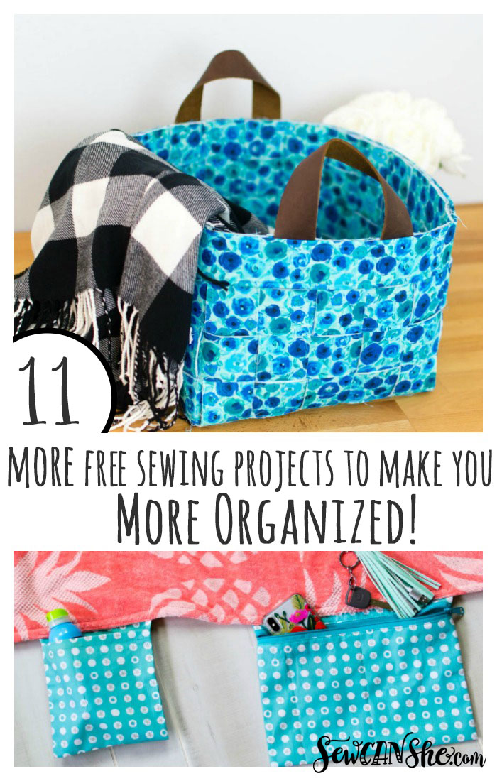 11 Best Free Sewing Projects To Make You More Organized