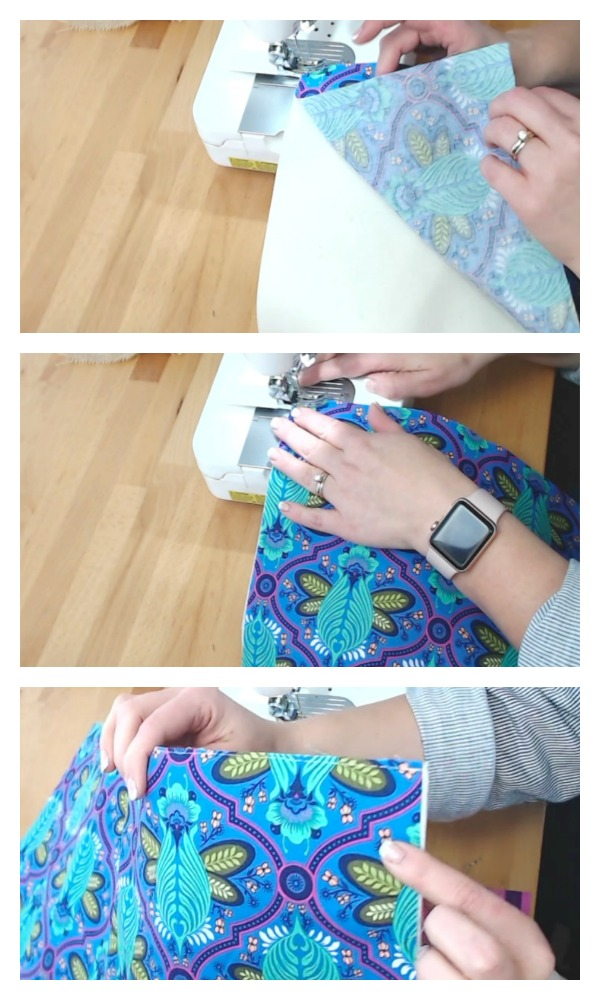 basting fabric to flex foam interfacing