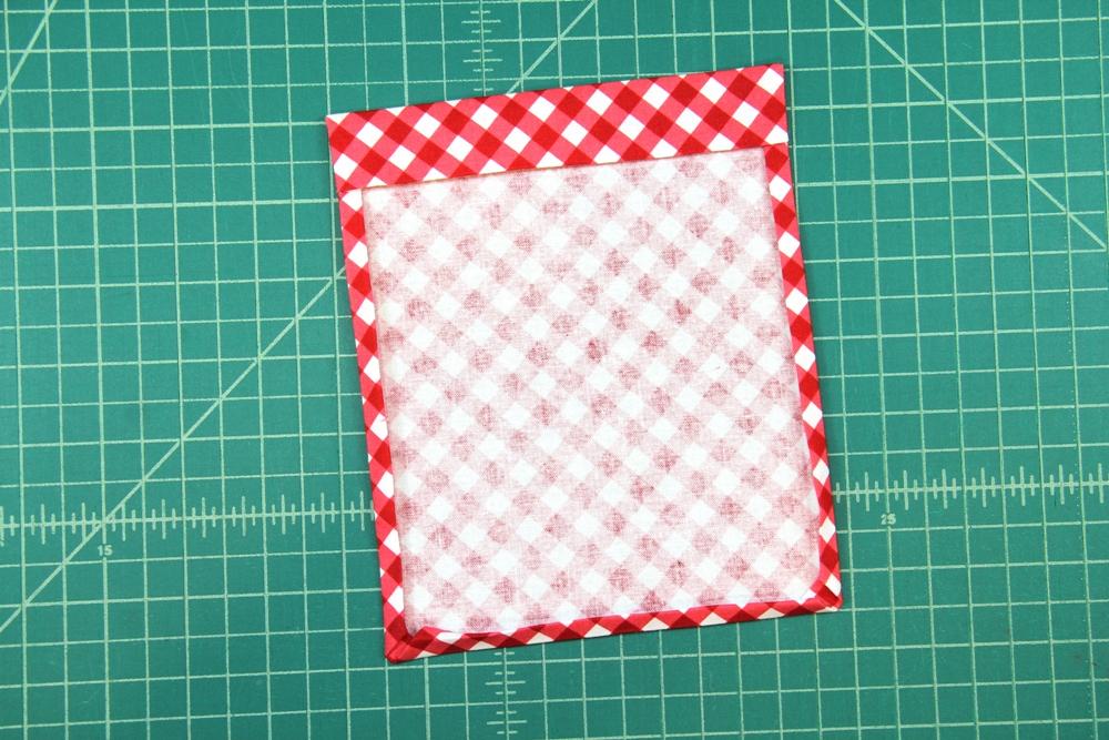 5. bottom edge folded and pressed.JPG