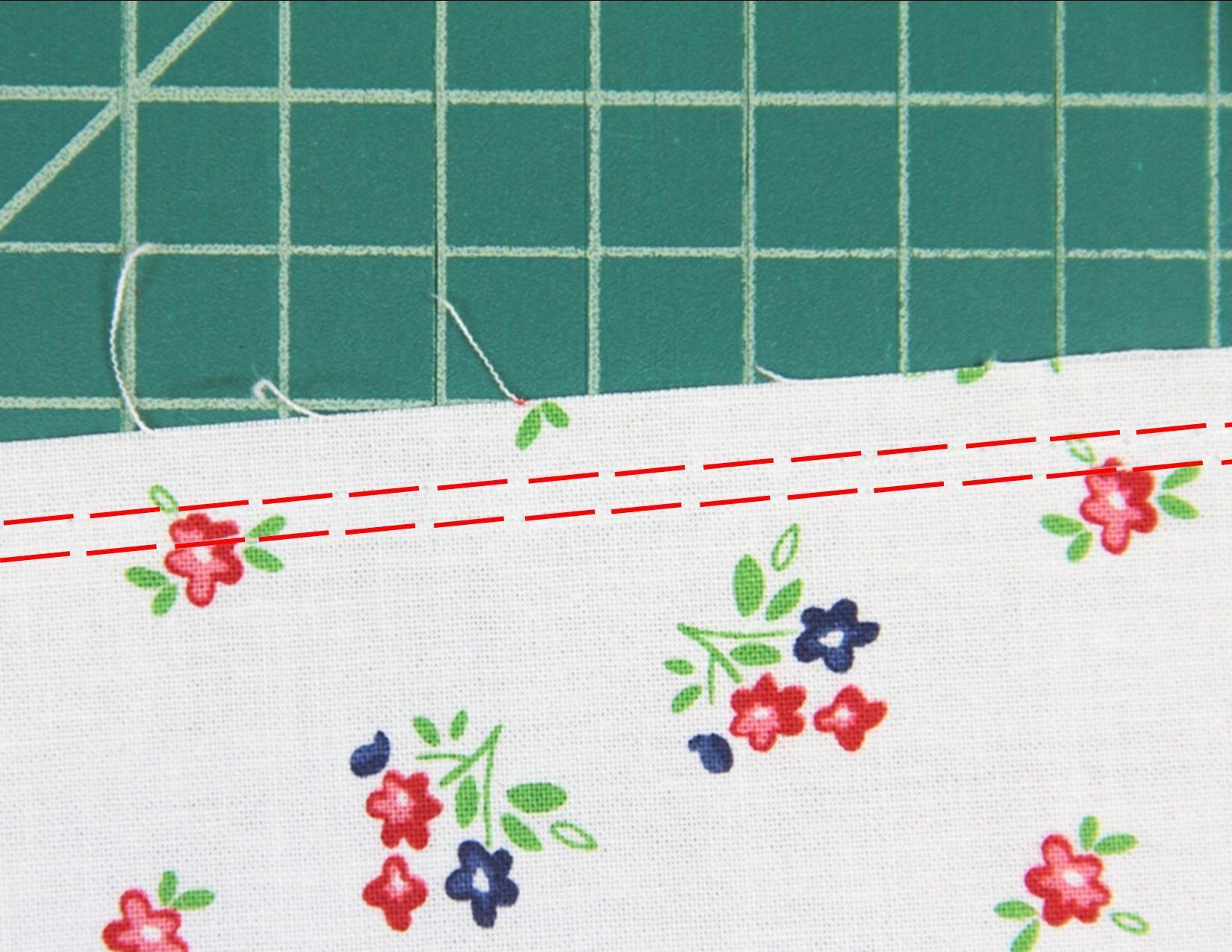 10. basting stitching on skirt.JPG