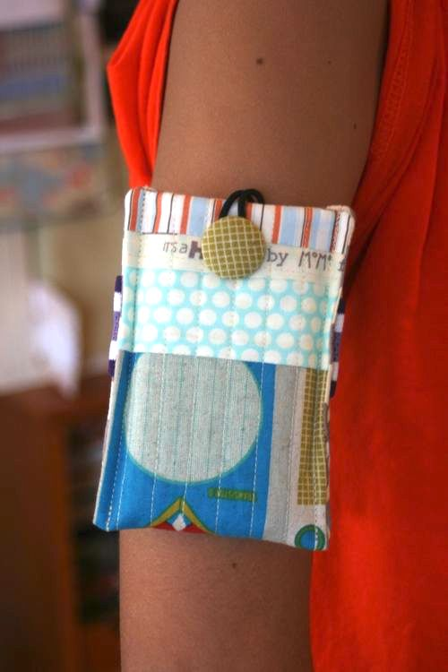 Ipod Case (for your arm) by One Shabby Chic