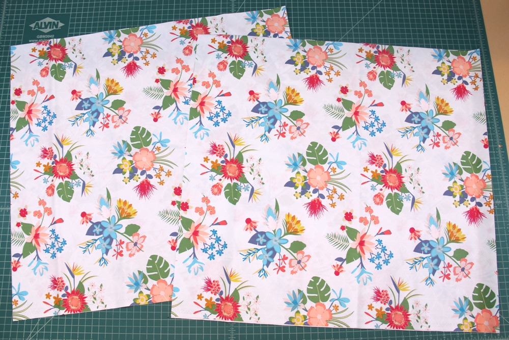 2. First two fabric pieces cut.JPG
