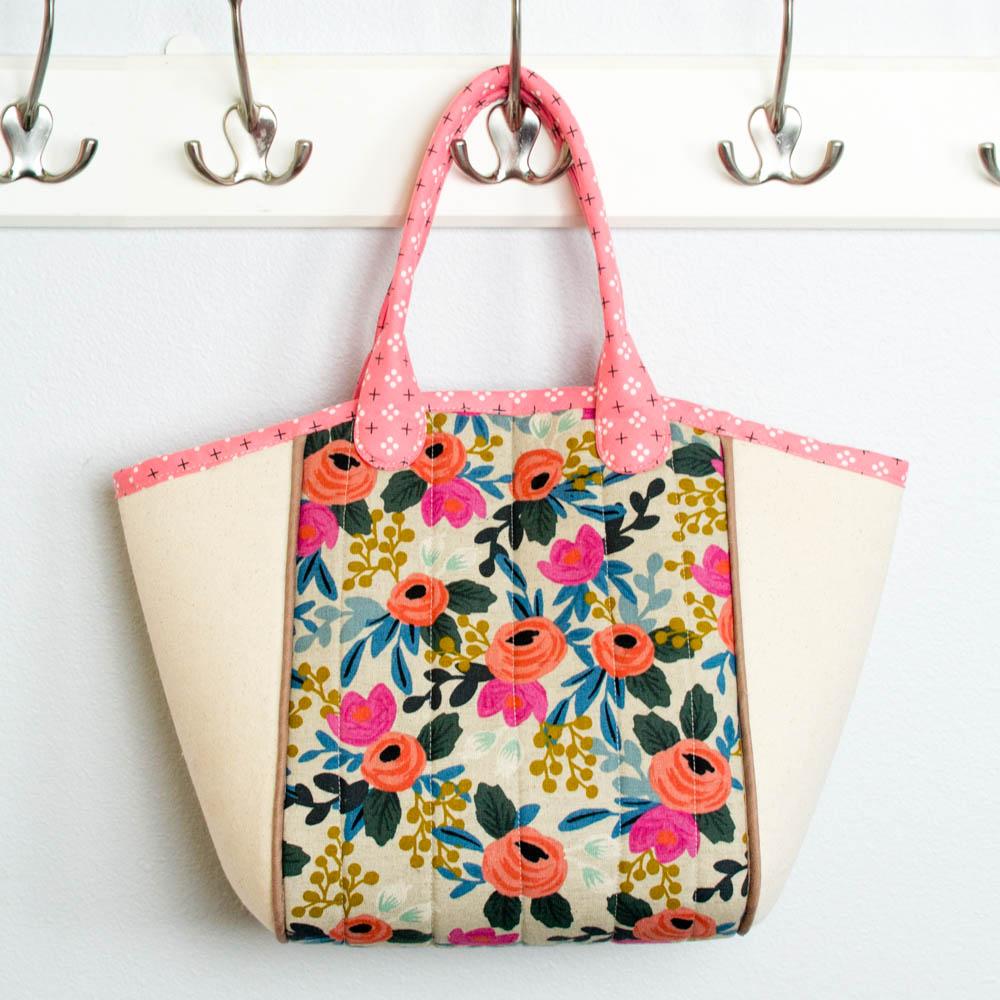 Basket Tote Free Bag Pattern