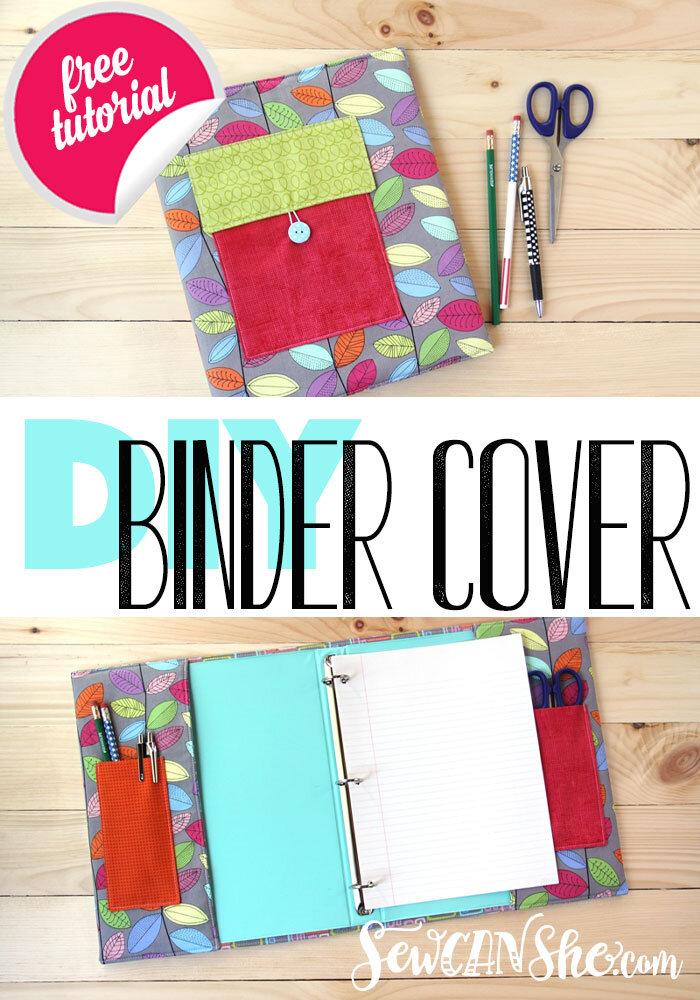 diy padded binder cover