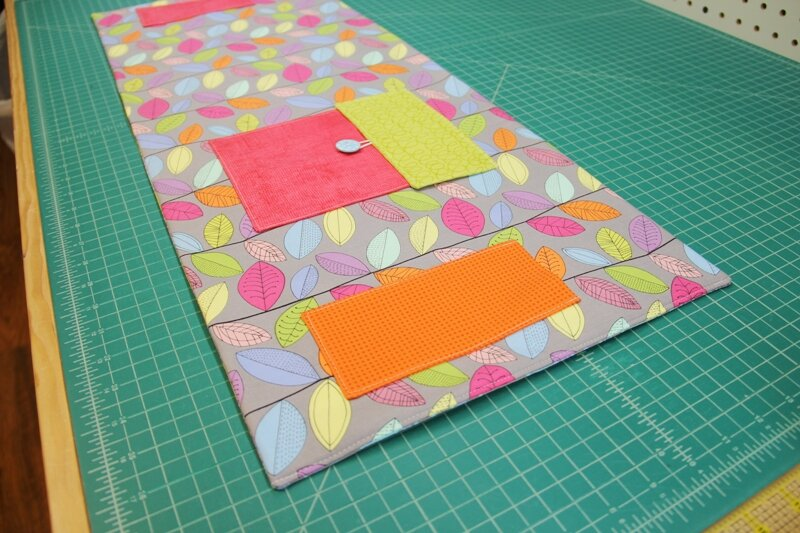 12 - inner and outer pockets completed.JPG