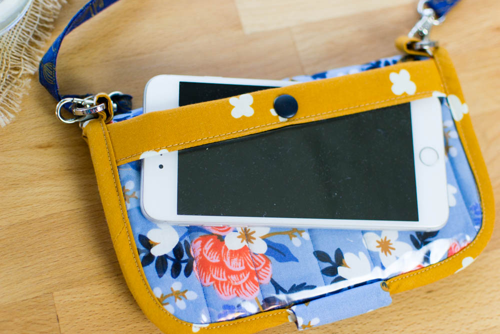 Click here for the free Perfect DIY Wallet Pattern