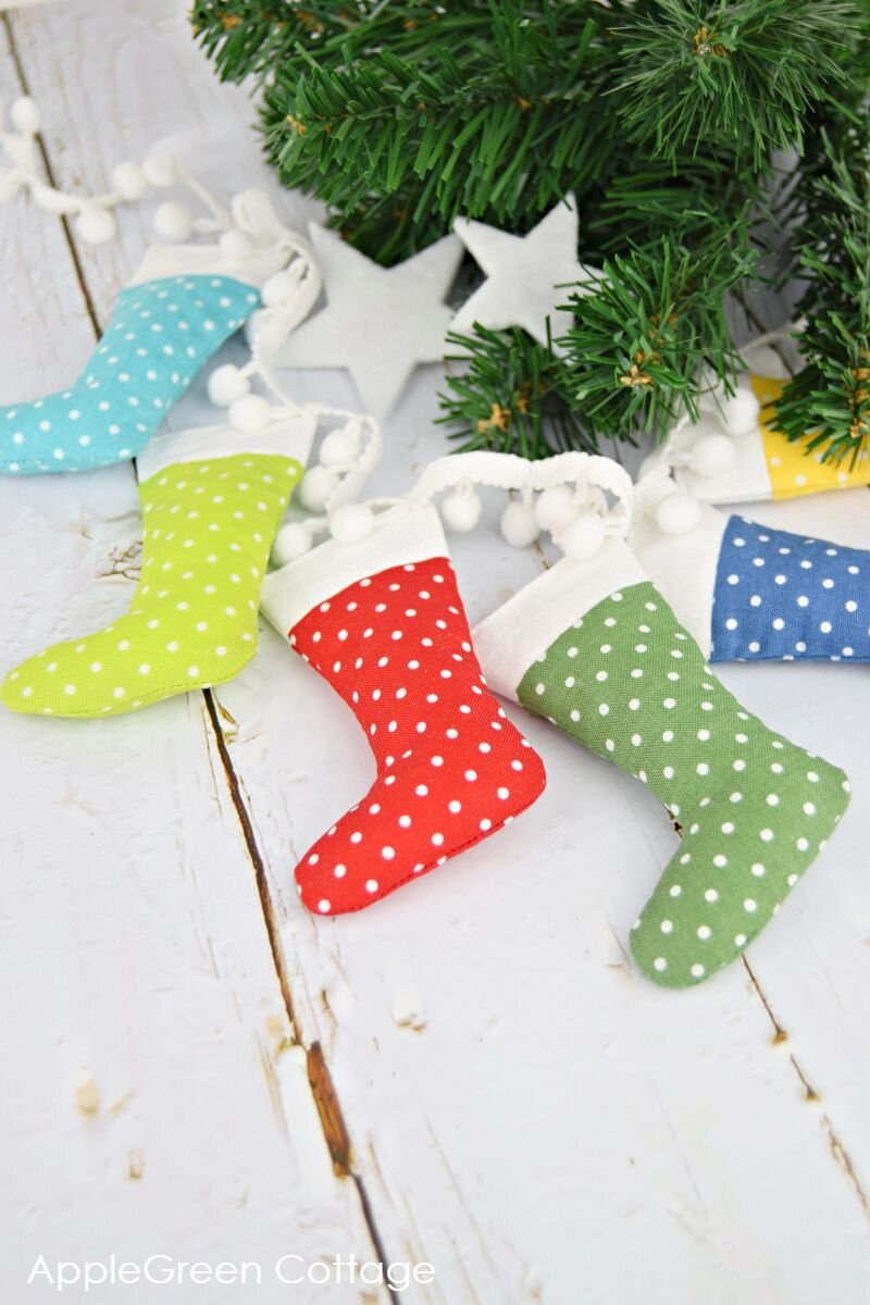 free small christmas stocking sewing patterns