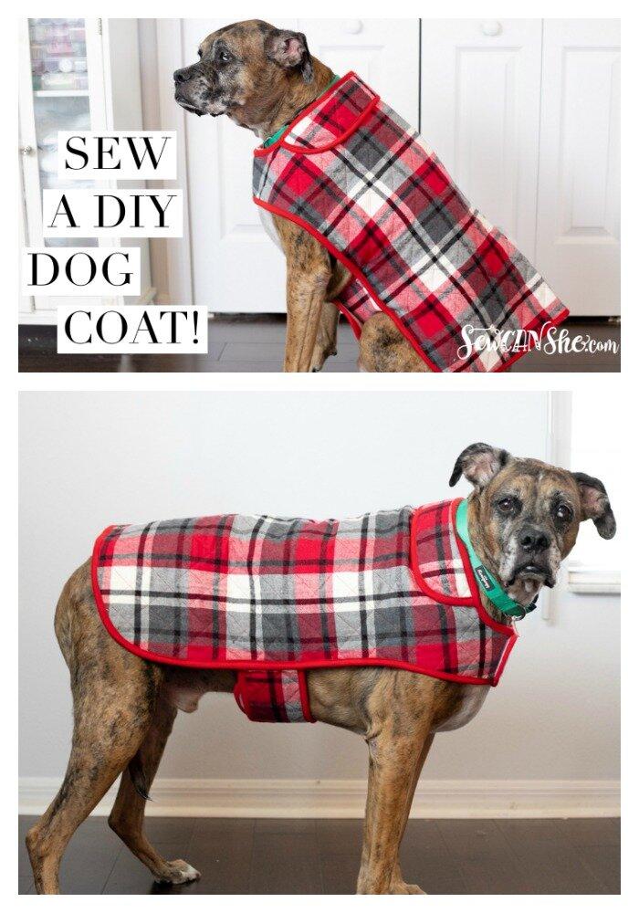 free dog coat sewing pattern