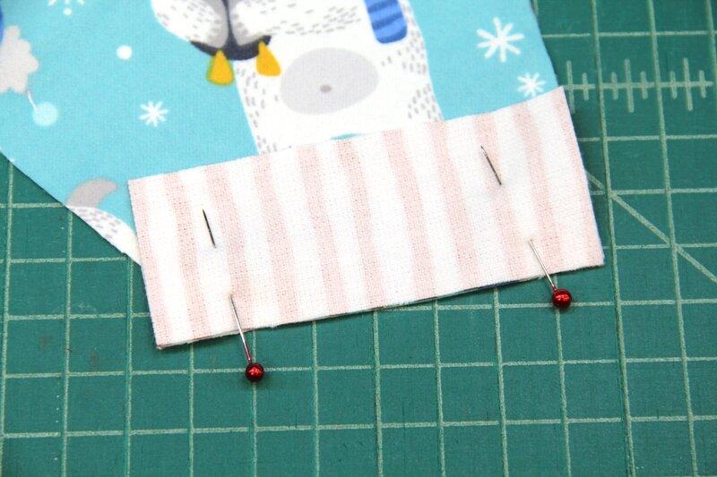 3. Pin cuff to mitten.JPG