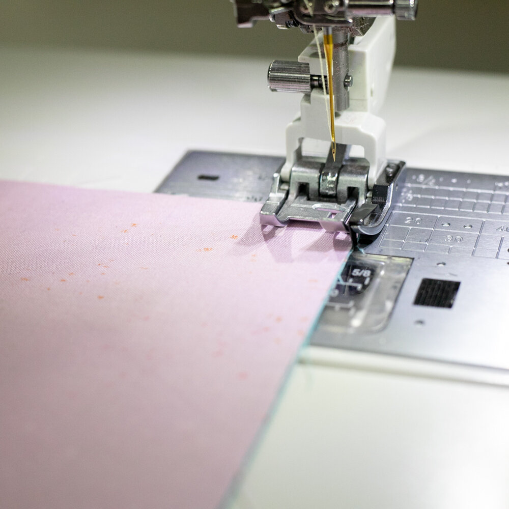 On the Janome Memory Craft 14,000.
